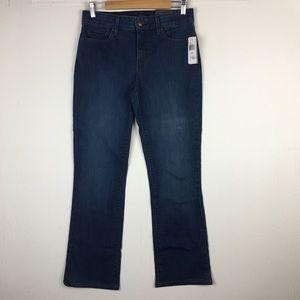 New $124 NYDJ Mini Bootcut Jeans